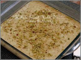 poetry of food kolkata special mishti doi famous sweet