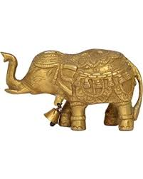 Elephant Home Decor Boo Tiful Sales On Elephant With Bell Antique Brass Metal Statue