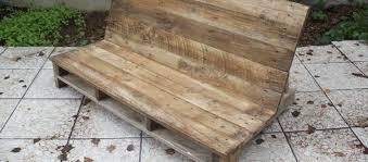 palette canapé fabriquer un canapé de jardin en palette david mercereau