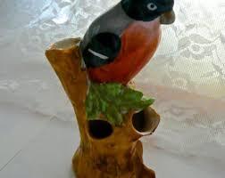 Frog Flower Vase Bird Flower Vase Etsy