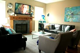 where to put tv images about family room ideas where to put tv in great fireplace