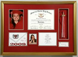 graduation shadow box frame your diploma bradley s and frame