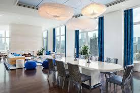 soggiorno e sala da pranzo gallery of beispiellose penthouse wohnung in new york mit