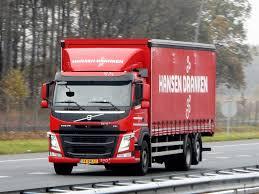 volvo trucks holland volvo fm rigid from hansen dranken holland transport in movement