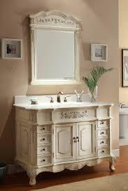 Antique Bathroom Mirrors Sale by White Vanity Bathroom Vanity In Antique White With Marble Vanity