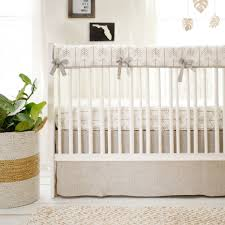 Jungle Baby Bedding Neutral Baby Bedding Tan Fabric Crib Bedding