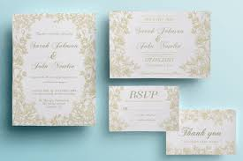 Diy Wedding Invitations Templates 90 Gorgeous Wedding Invitation Templates Design Shack