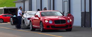 bentley coupe red 2014 bentley gt speed w12 easily wins fastest most sideways award