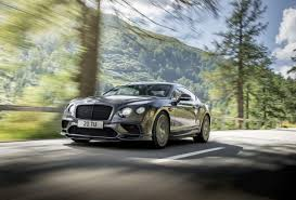 bentley sports car world u0027s fastest four seat car continental supersports the