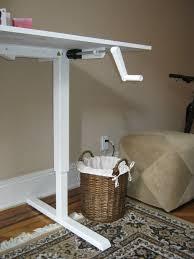 crank adjustable height standing desk decorative desk decoration