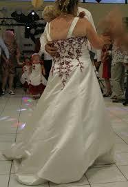 occasion mariage de mariée grande taille boléro ivoire et bordeaux occasion du