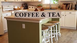 coffee u0026 tea sign farmhouse sign hand painted sign kitchen