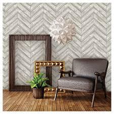tempaper wallpaper tempaper herringbone removable wallpaper ash target