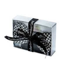tie box gift bow tie in gift box northumberland tartan