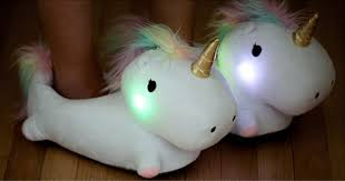 bedroom slippers unicorn bedroom slippers that light up when you walk bored panda