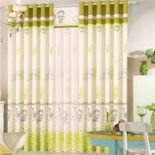 cute baby curtains for nursery neat printed