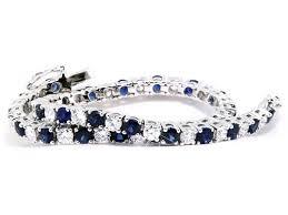 bracelet diamond sapphire images Classic sapphire and diamond tennis bracelet diamond bracelets nl