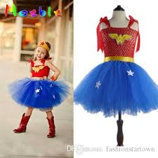 Princess Halloween Costumes Kids Kids Baby Girls Woman Tutu Dress Superhero Princess Diana