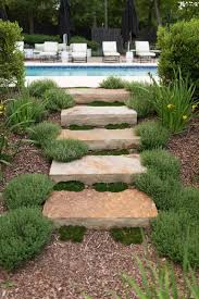 really interesting ideas how to design stairs in the garden
