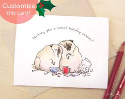 stuffin pug thanksgiving cards thanksgiving
