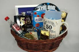 customized gift baskets 50th birthday gift basket for men personalised gift basket