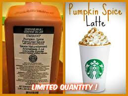 Pumpkin Spice Frappuccino Bottle by Starbucks Pumpkin Spice Sauce U2014 Recipes Hubs