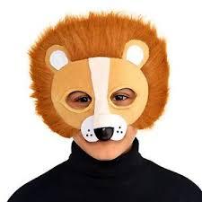 lion mask kids big cat lion mask safari jungle king fancy dress party book