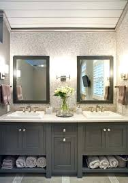 built in bathroom cabinet ideas master bath with white cabinets