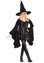 Halloween Costumes 1 Girls Girls Black Witch Costume