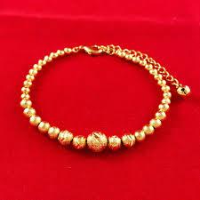gold bracelet chain styles images Promotion gold color romantic style bracelets vintage beads jpg