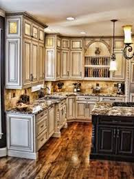 Style Of Kitchen Design Like The Tone Of The Rustic Knotty Alder Kitchen Cabinets Would