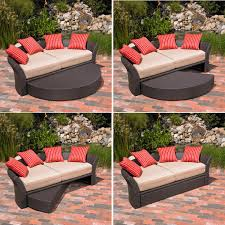Outdoor Furniture Daybed Backyard Cb318163122 Outdoor Furniture Daybed Amazon Com Mission