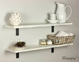 Distressed Wood Shelves by Distressed Shelves Etsy