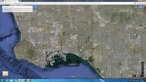 Goo Map Long Beach California Map