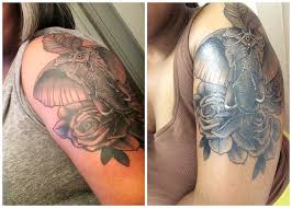 elephant cover up tattoo ideas