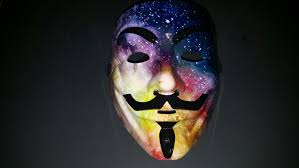 custom galaxy anonymous guy fawkes mask awesome thick resin