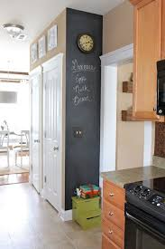 chalkboard ideas for kitchen i this chic and kitchen with the blackboard
