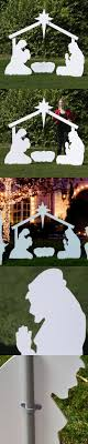 nativity outdoor best 25 outdoor nativity sets ideas on outdoor