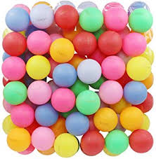 amazon com tadick beer ping pong balls plastic multiple color