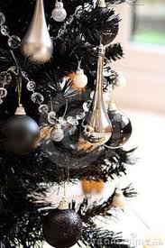 What Trees Are Christmas Trees - elegant black and gold christmas tree blackchristmastree elegant