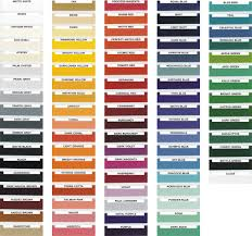 100 car paint job color chart spray paint color chart for