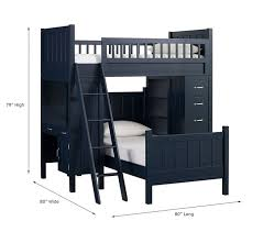 Camp Twin Bunk System  Twin Bed Set Pottery Barn Kids - Kids bunk bed sets