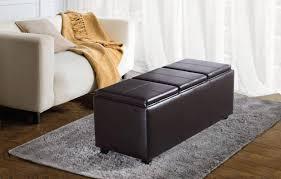 Cushion Ottoman Sofa Storage Bench With Cushion Ottoman Chair Ottoman Footstool