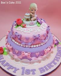 baby girl birthday birthday cakes images sweet adorable baby girl birthday cakes