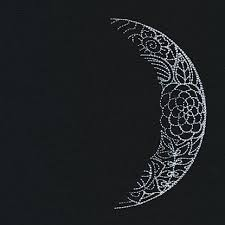 waning crescent moon threads unique and awesome