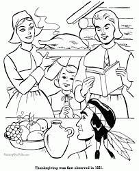 thanksgiving feast coloring pages aecost net aecost net