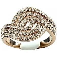 buy fashion rings images Women swirl wave fashion rose gold ring buy costume jewellery rings uk jpg