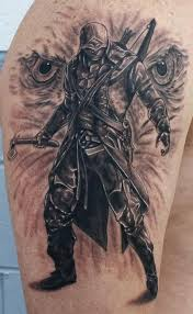 assassins creed by daniel chashoudian tattoonow