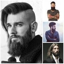 2017 men u0027s hairstyles with long beards hairstyles 2017 new