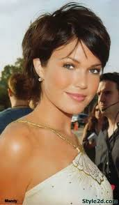 ways to style chin length thin hair 17 best short hairstyles images on pinterest haircolor hair